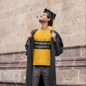 Mechanical engineers graduation T-shirt